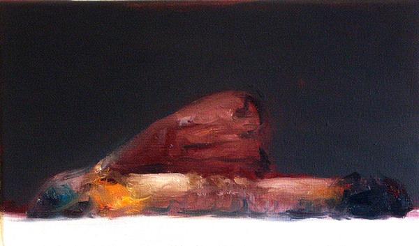 Sin título. 2007. Óleo sobre tela. 27 x 22 cm.