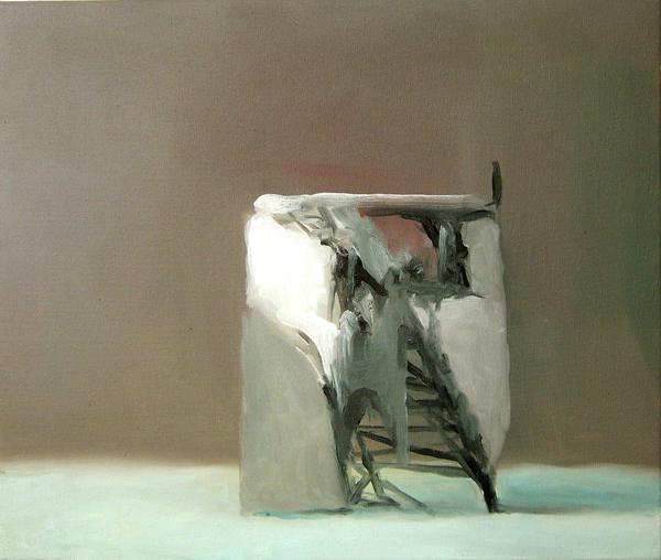 Sin título. 2005. Óleo sobre tela. 55 x 46 cm.