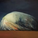 Sin titulo, óleo sobre lienzo, 55 x 46 cm.