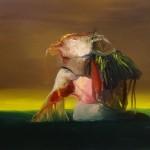 Hígado Imperial. Óeo sobre lienzo, 55 x 46 cm