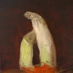 Sin título, 2015. Óleo sobre lienzo. 27 x 22 cm.
