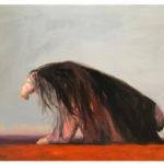Sin título, óleo sobre lienzo, 55 x 46 cm.