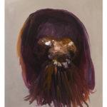 Sin título, óleo sobre papel, 46 x 38 cm.