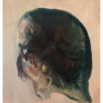 Sin título, óleo sobre papel, 30 x 40  cm