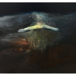 Sin título, óleo sobre lienzo, 46 x 38 cm.