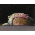 Sin título, óleo sobre lienzo 35 x 27 cm.