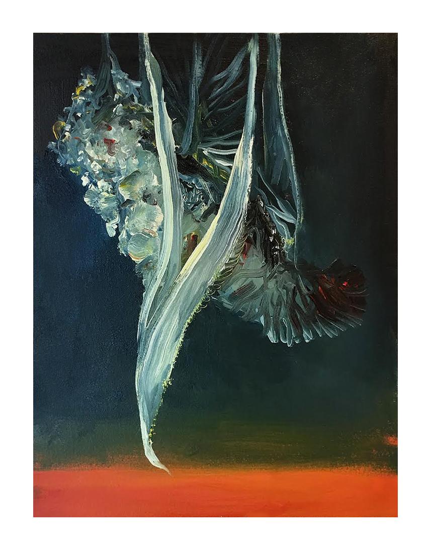 Sin título. óleo sobre papel. 41 x 31 cm.