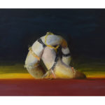 Sin título, óleo sobre tela, 41 x 33 cm.