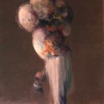 Sin título. 2007. Óleo sobre tela. 41 x 27 cm.
