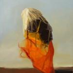 Sin titulo, óleo sobre lienzo, 61 x 50 cm.