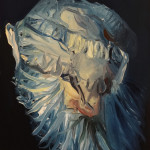 Sin título, óleo sobre tabla, 33 x 24 cm