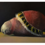 Sin título, óleo sobre lienzo, 65 x 54 cm.