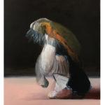 Sin título, óleo sobre lienzo, 61 x 74 cm.