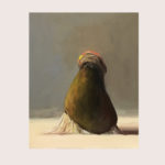 Sin título, óleo sobre lienzo, 41 x 33 cm.