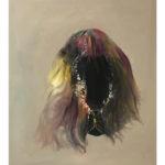 Sin título, óleo sobre tela, 55 x 46 cm.