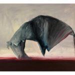 Sin título, óleo sobre papel, 41 x 31 cm.