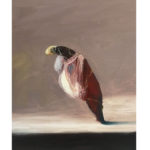 Sin título, óleo sobre tela 41 x 33 cm.